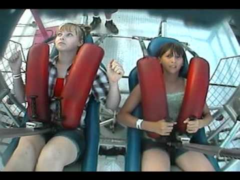 slingshot ride at the calgary stampede july 10