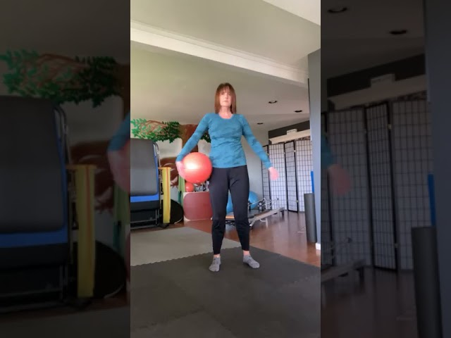 Simple moves using our favorite orange ball!