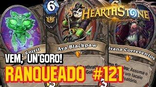 JADE ROGUE PRA VARIAR UM POUCO - #121 RANQUEADO PADRÃO - HEARTHSTONE