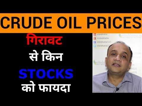 Falling Crude Oil Prices - 7 Sectors that Will Gain | HINDI