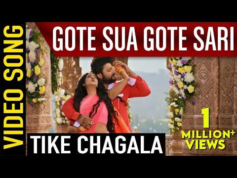 Gote Sua Gote Sari Odia Movie || Tike Chagala || Video Song | Anubhav, Barsha