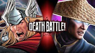 Thor VS Raiden (Marvel VS Mortal Kombat) | DEATH BATTLE!