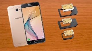 SAMSUNG GALAXY J7 PRIME  ( Como Instalar  La Sim Card  Y La Micro SD ) HD