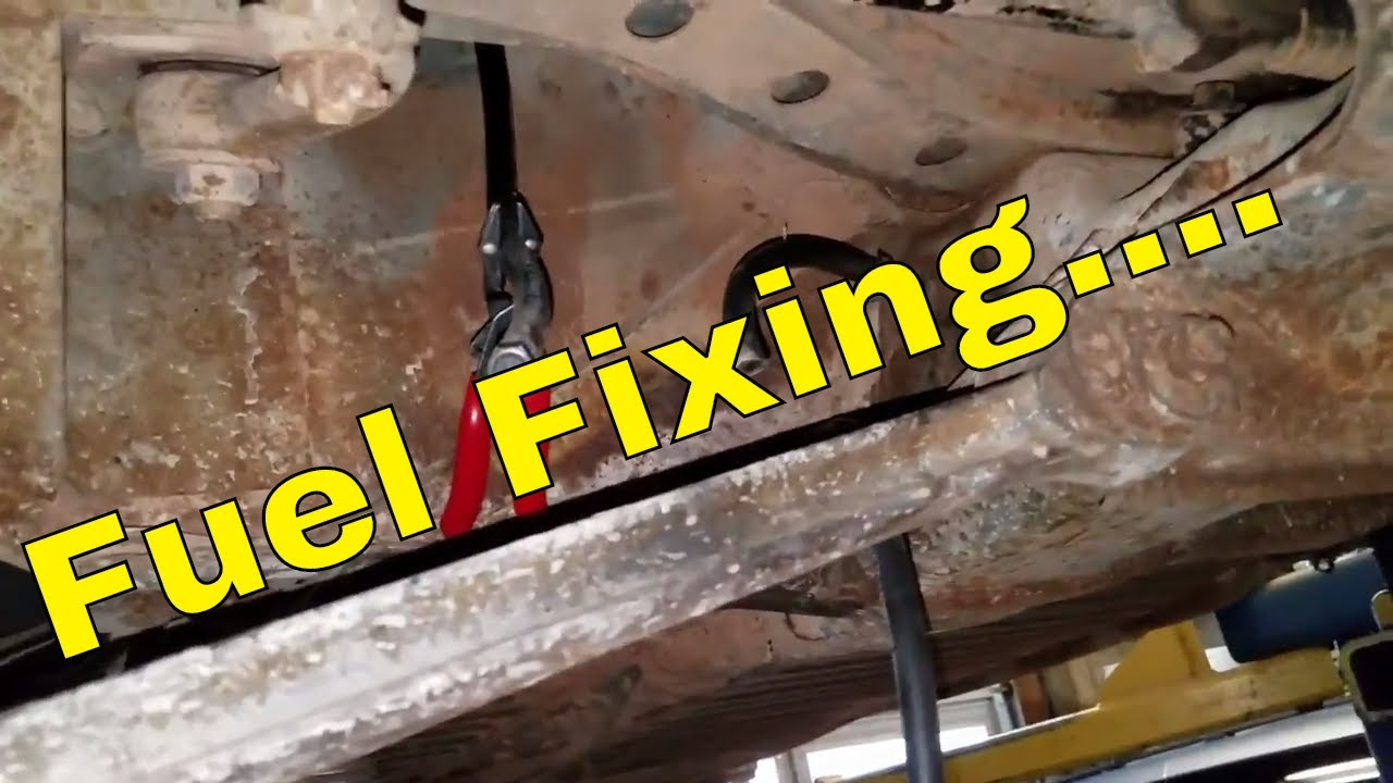 day 12 71 vw beetle fuel line install fixing do it for mom  [ 1280 x 720 Pixel ]