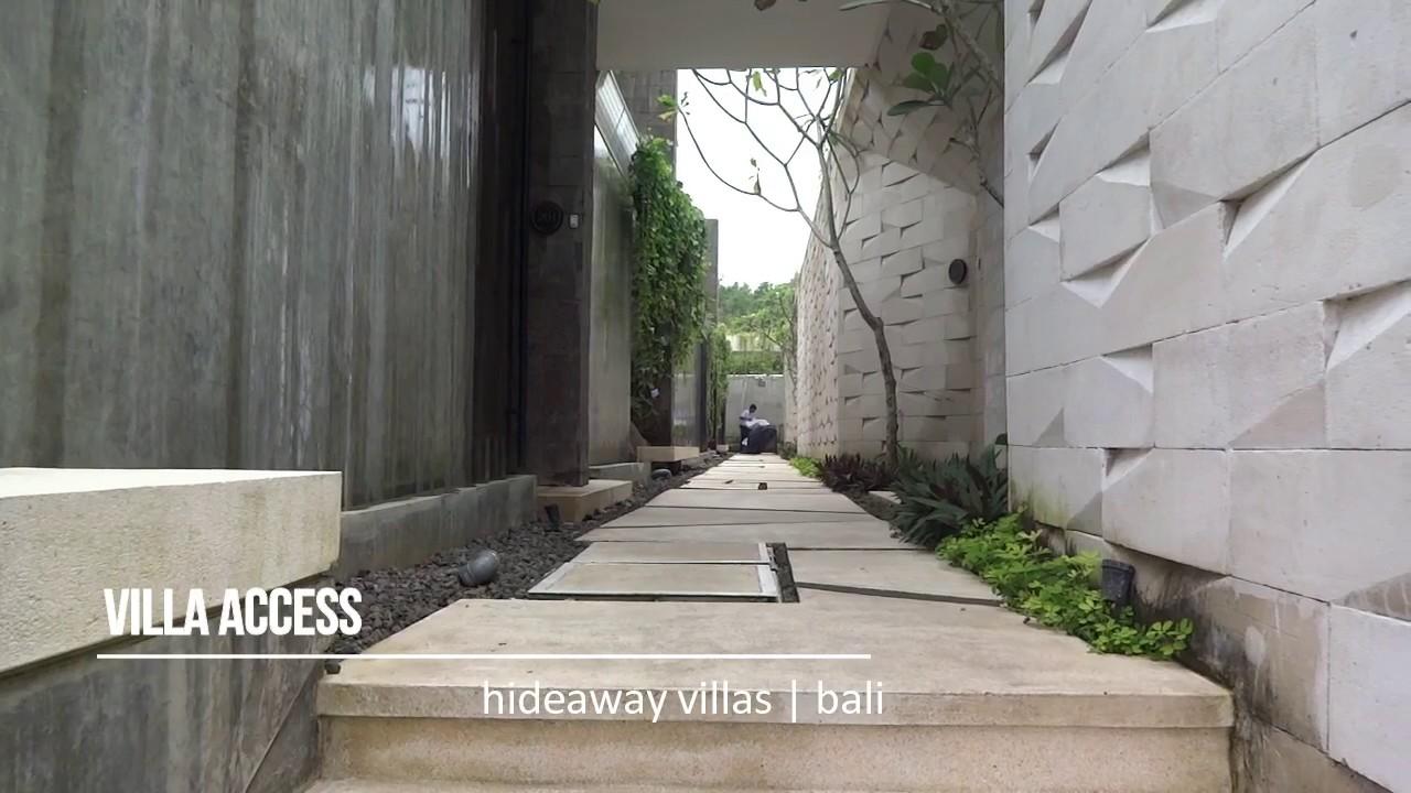 Hideaway Villas Uluwatu Bali Youtube