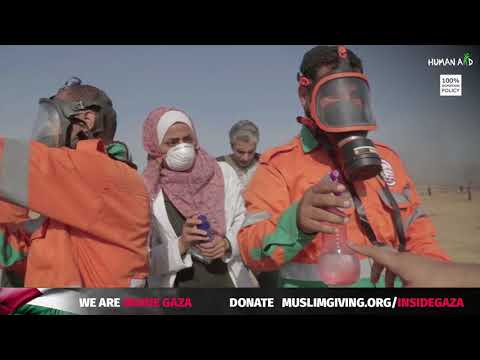 Clashes on Al-Quds Day | Human Aid UK are inside Gaza! [Part One]