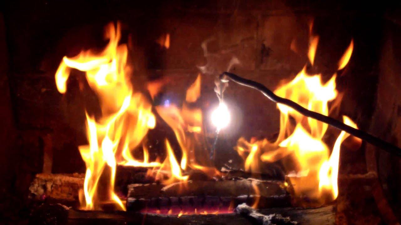 How bright is burning magnesium?
