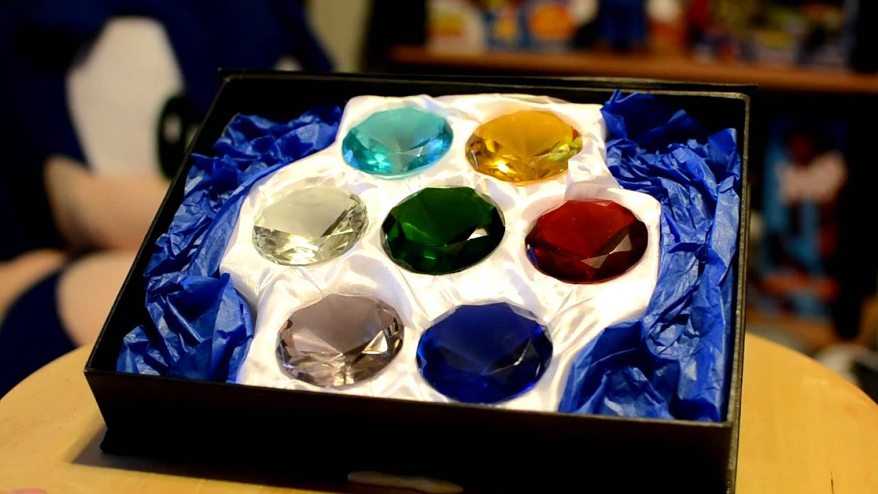 sonic s real life chaos emeralds youtube