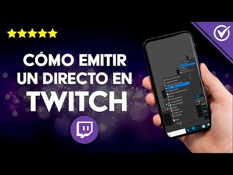 Cómo Hacer o Emitir un Directo en Twitch con OBS o PS4 - Hacer Stream o Retransmitir en Twitch