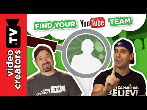 How To Find and Hire your YouTube Team