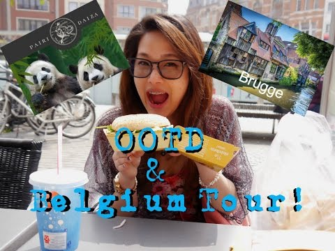 OOTD and Belgium Tour with me