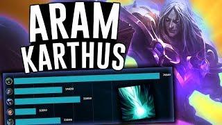 THE MOST BROKEN CHAMPION IN ARAM!! - Karthus ARAM - League of Legends