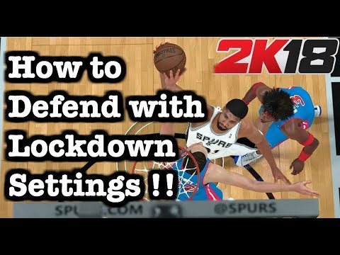 All NBA 2K18 Defensive Settings Explained: Best 2K18 How to defend Tutorial. 2K18 Defense Tips #8