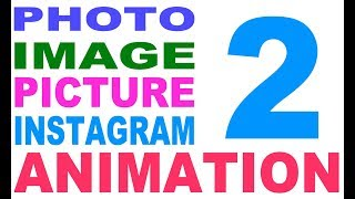 Photo animated, animated image, animated picture, picture animation