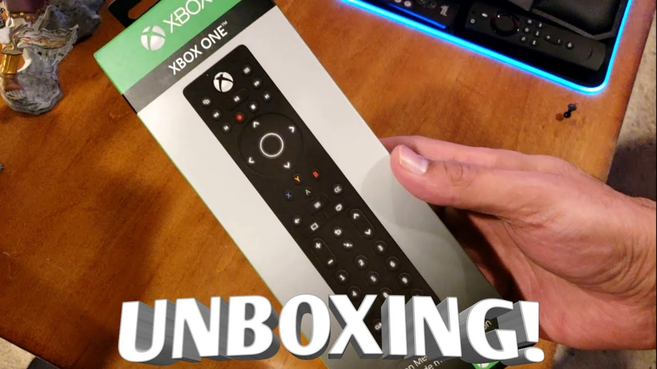 XBOX ONE Media Remote - Unboxing and set up!