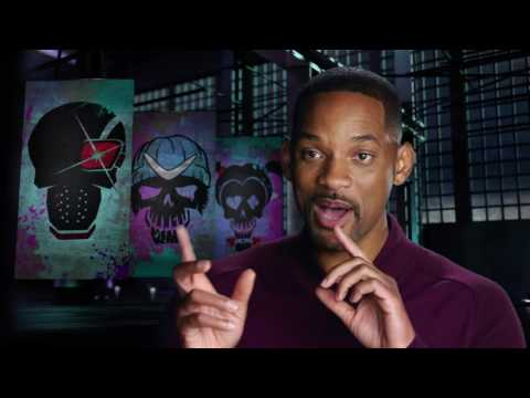 Suicide Squad: Full Cast On Set Movie Interviews - Jared Leto, Will SMith, Margot Robbie