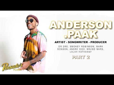 Grammy Award Winning Artist/Songwriter & Producer Anderson .Paak (Part 2) – Pensado's Place #446