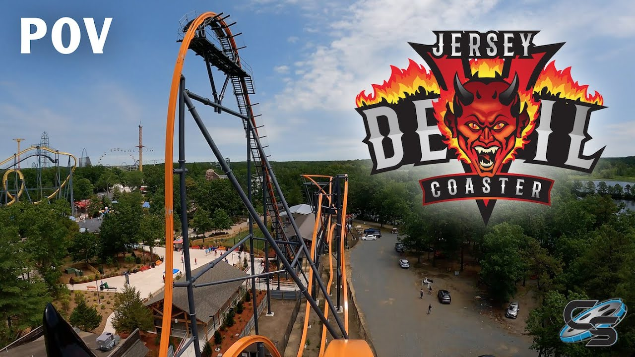 Jersey Devil On-Ride POV Six Flags Great Adventure New for 2021 Roller Coaster
