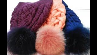 Скільки набрати петель для шапки з косами/// Зняття мірок /// Розрахунок петель за зразком.