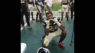 Travis Homer celebrates as first offensive player to get Miami's Turnover Chain | ESPN thumbnail