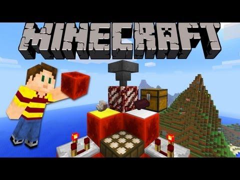 Minecraft 1.5 Snapshot: Trapped Chest, Quartz Ore, Redstone Block, Hopper, & Tons More! 13w01a