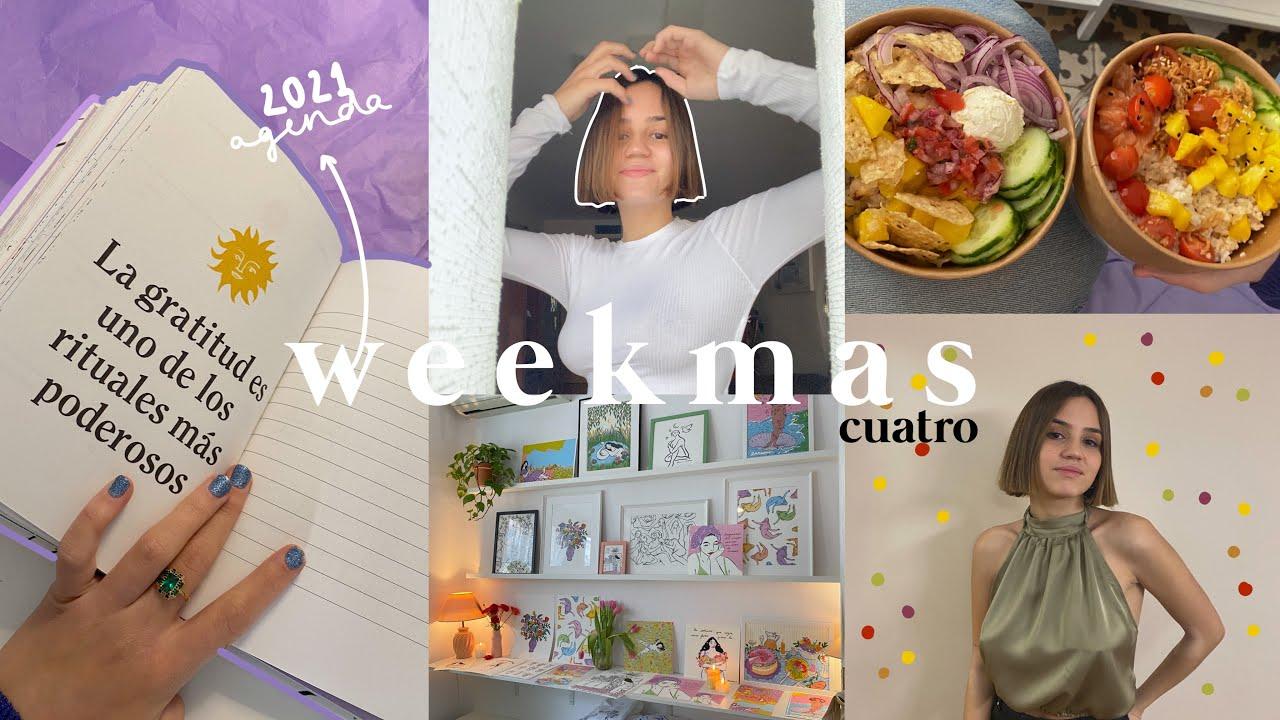 WEEKMAS 4 | me corto el pelo como Gambito de Dama ♟, mi agenda 2021, último examen y Navidad