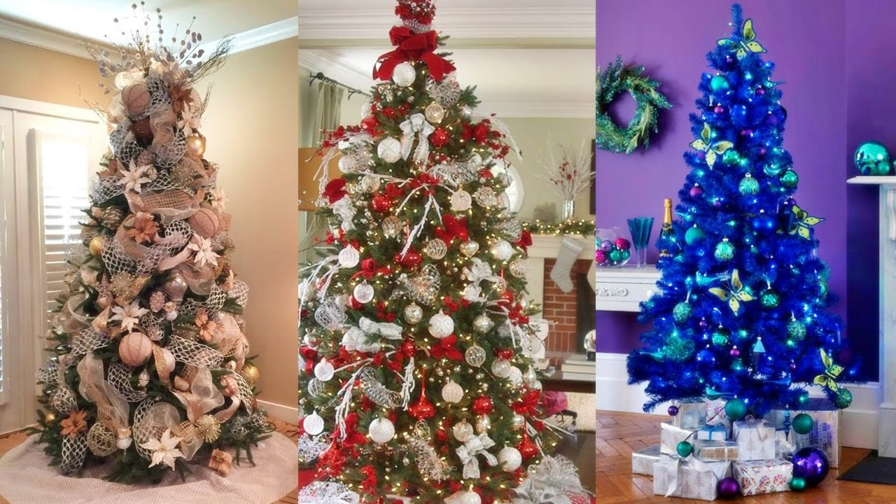 Ideas para decorar nuestro rbol navide o youtube for Como decorar un pino de navidad