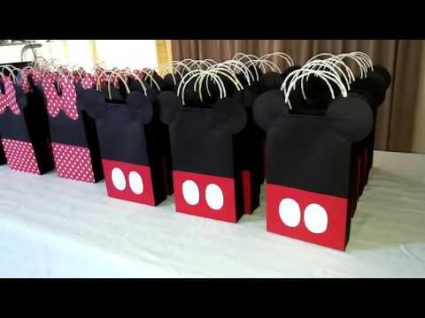 Bolsas para golosinas Mickey y Minie