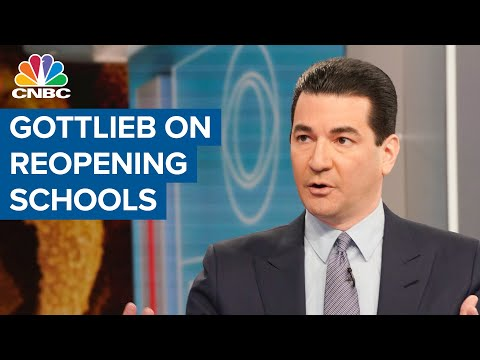 Former FDA Commissioner Dr. Scott Gottlieb on reopening schools – CNBC Television