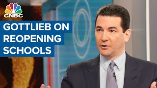 "Former fda commissioner scott gottlieb joins ""closing bell"" to talk about what reopening schools will look like for kids. access live and exclusive vi..."