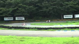 オールズレーシングカートレンタルにて20120812井頭レンタル走行してい...