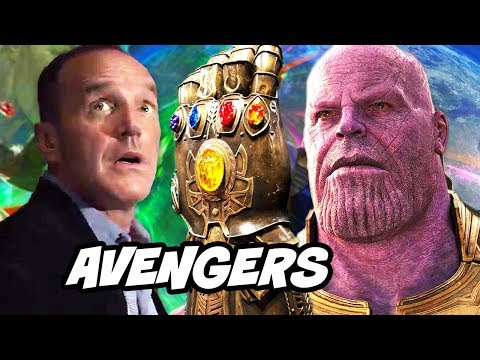 Avengers Infinity War Agents of SHIELD Scene Explained