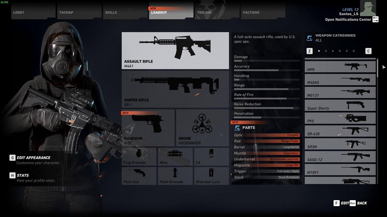 Tom Clancy's Ghost Recon Starter Savegame
