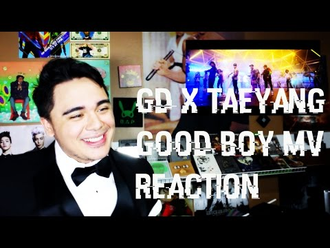 GD X TAEYANG - GOOD BOY MV Reaction