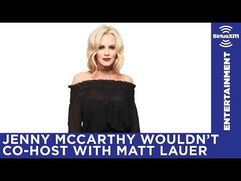 """""""Everyone knows Matt Lauer's been a dick for a very long time."""" / Jenny McCarthy Show / Stars"""