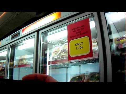 Iceland supermarket Los Cristianos Tenerife sells British food products