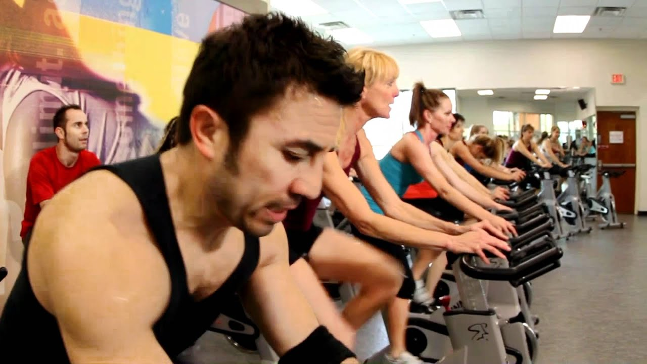 Indoor Cycling Class At La Fitness Youtube