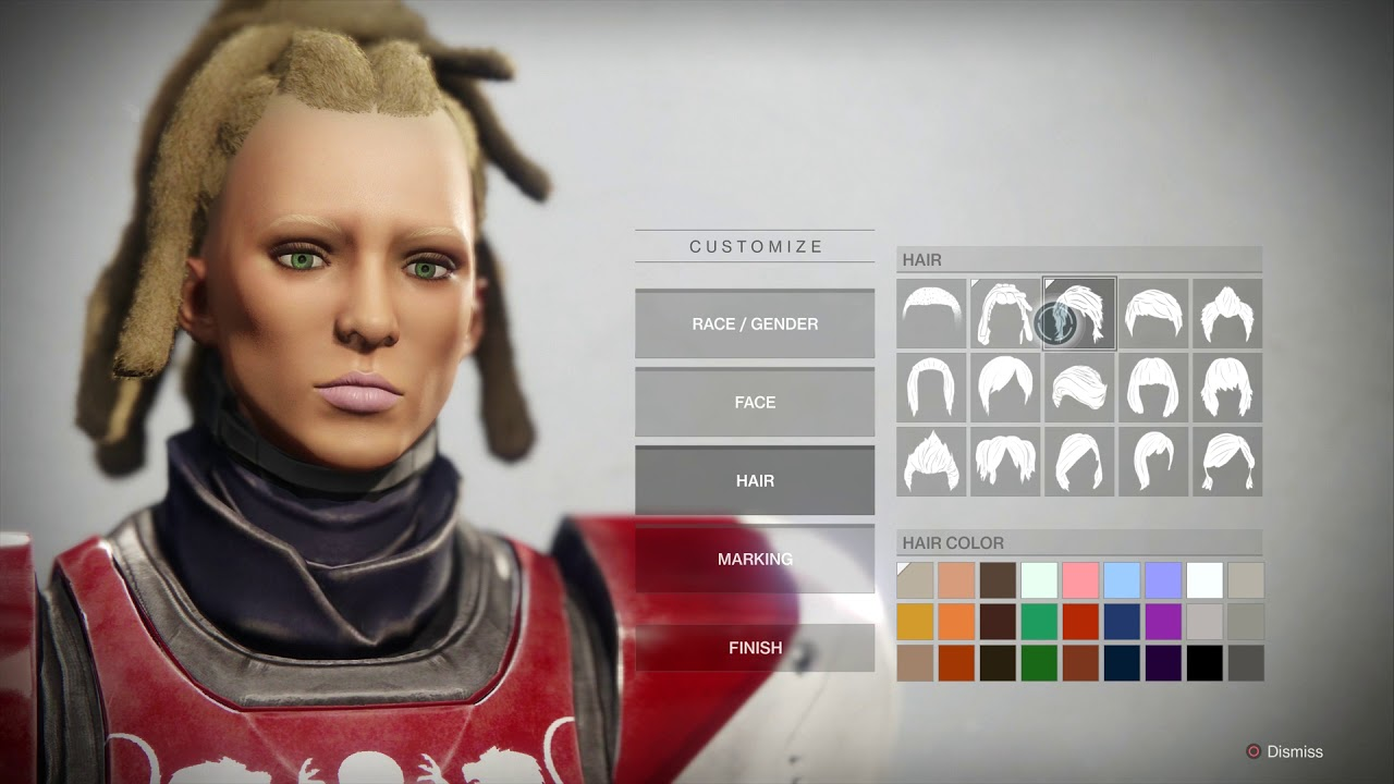 Destiny 2 Human Hairstyles From Behind Clearance Shop