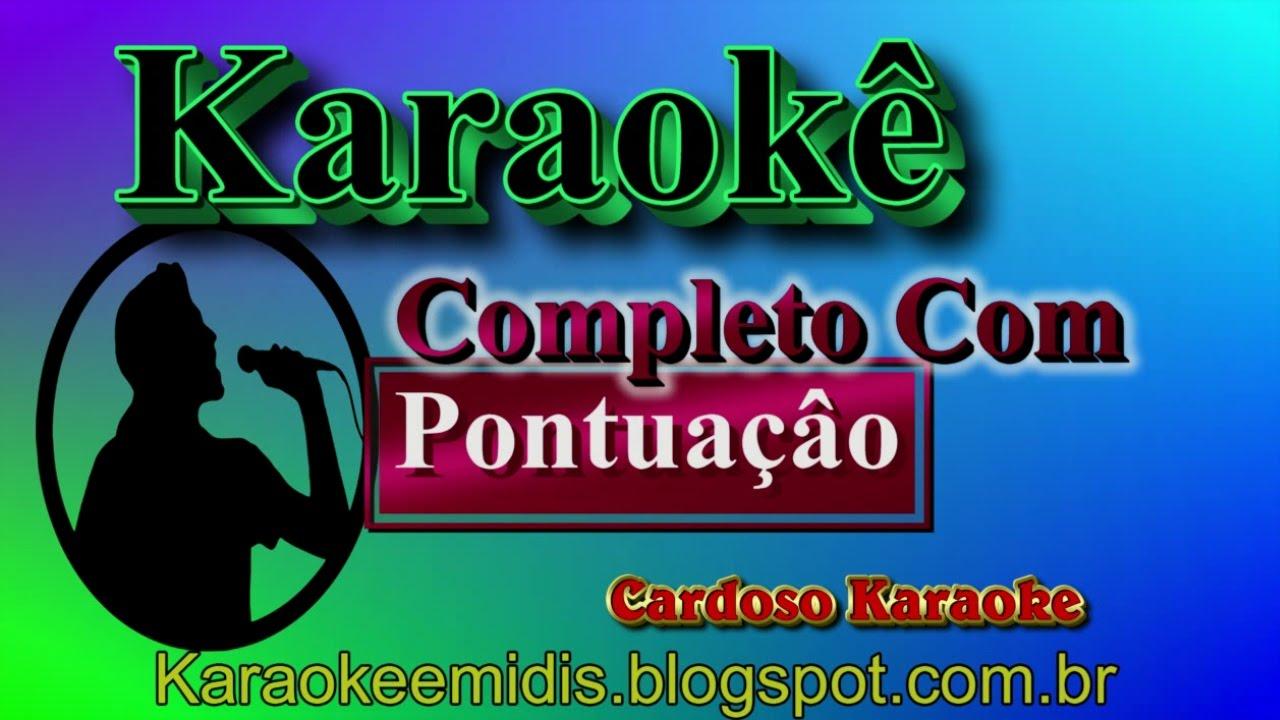 cd de karaoke com pontuao gospel