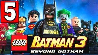LEGO BATMAN 3 BEYOND GOTHAM Walkthrough Part 5 LEVEL Space Suits You Sir PS4 XBOX PC [HD]