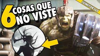 Thor Ragnarok Teaser - Easter eggs, Secretos y cosas que NO viste! (Breakdown)