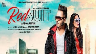 Red Suit | Releasing worldwide 09 08 2019 | AJ Dharmani | Teaser | New Punjabi Song 2019