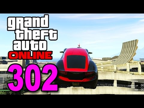 Grand Theft Auto 5 Multiplayer - Part 302 - QUARTER PIPE! (GTA Online Gameplay)