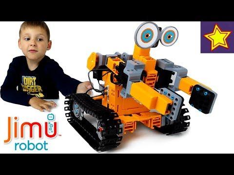 Про роботы для детей Удивительный игровой робот JIMU на управлении Jimu Robots for kids