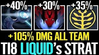 Liquid vs EG [Game 1] CRAZY +105% DMG ALL TEAM RIP EG - #TI8 The International 8 DOTA 2