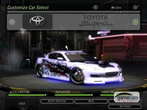 Nfs Underground 2 Modified Cars Youtube