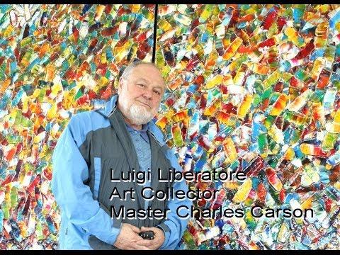 "Charles Carson Canadian Artist, Art Collecter M. Luigi Liberatore: ""Carsonism and mosaic movement"""