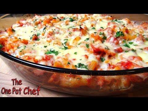 Bacon Pasta Bake | One Pot Chef