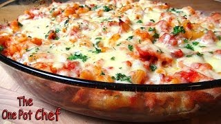 Bacon Pasta Bake | One Pot Chef