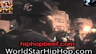 shots fired at rick ross young jeezy in miami says where s your favorite rapper at flashes gun